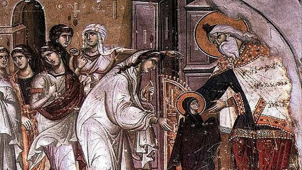 Address on the Feast of Our Most Holy Lady – 1