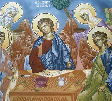 """The depiction of the three persons of the Holy Trinity"" [2]"