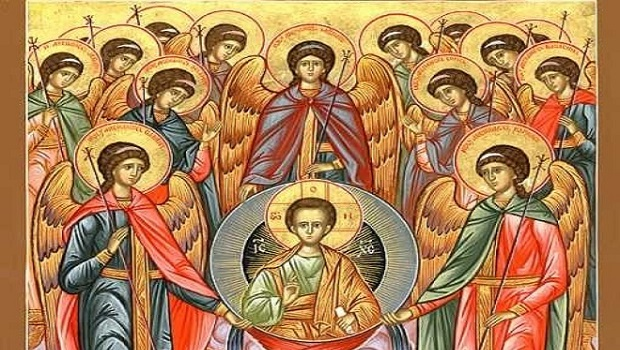 The Synaxis of the Archangels Michael and Gabriel