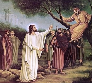 The 15th Sunday of Luke (Zacchaeus)