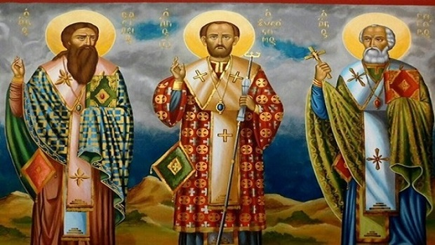 The Three Hierarchs and Modern Atheism
