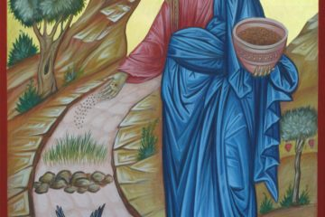 Icon of Christ, the Sower of Seeds